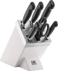 Zwilling four stars knife block set, 7-piece. (35145-000-0)