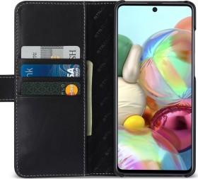 Stilgut Talis Wallet Case Nappa für Samsung Galaxy A71 schwarz (B086SPGV32)