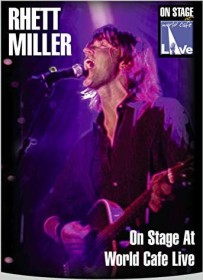 Rhett Miller - On Stage at World Cafe (DVD)