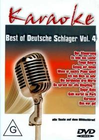 Karaoke: Best of Deutsche Schlager Vol. 4 (DVD)