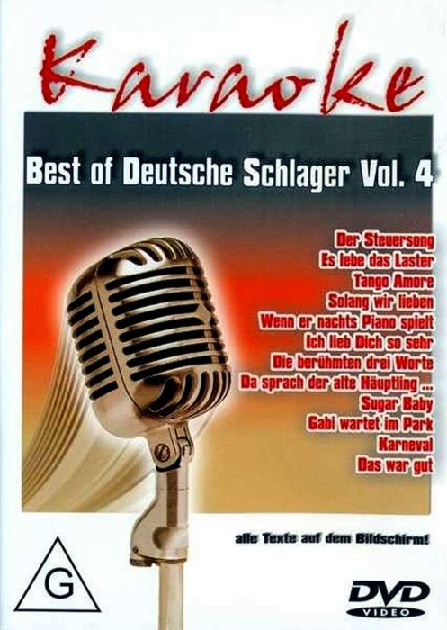 Karaoke: Best of Deutsche Schlager Vol. 4 -- via Amazon Partnerprogramm