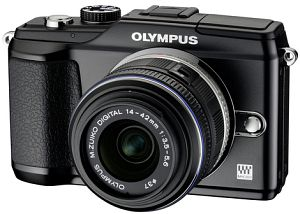 Olympus PEN E-PL2 black body