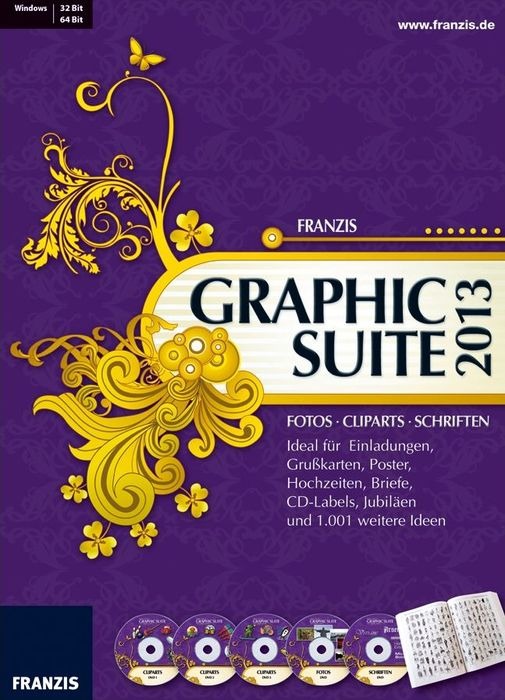 Franzis: Graphic Suite 2013 (German) (PC)