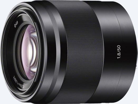 Sony E 50mm 1.8 OSS czarny (SEL-50F18B)