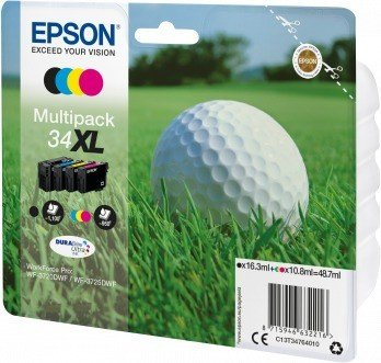 Epson ink 34 XL multipack (C13T34764010)
