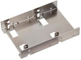 """SilverStone SDP08 nickel-plated, 2.5"""" mounting bracket (SST-SDP08/40112)"""