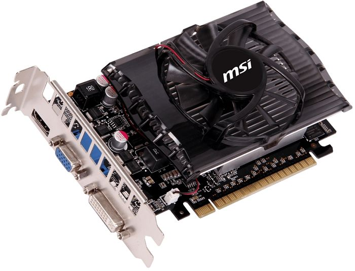 MSI N630GT-MD1GD3, GeForce GT 630, 1GB DDR3, VGA, DVI, HDMI (V809-086R)