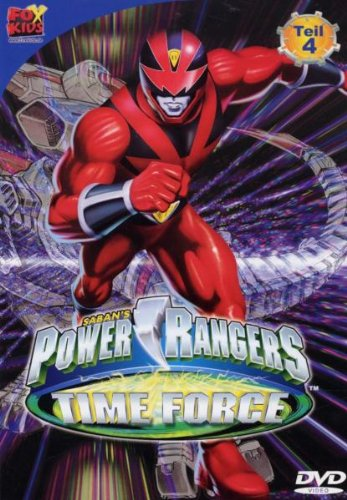 Power Rangers - Time Force  4 -- via Amazon Partnerprogramm