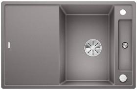 Blanco Axia III 45 S InFino alumetallic incl. glass cutting board (523185)