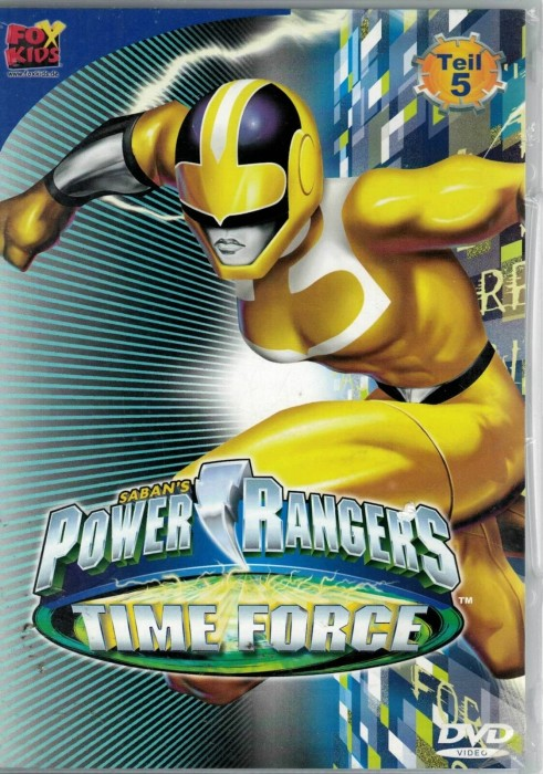 Power Rangers - Time Force 5 -- via Amazon Partnerprogramm