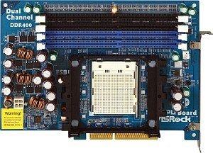 ASRock 939CPU Board, Upgrade Karte für K8Upgrade Serie