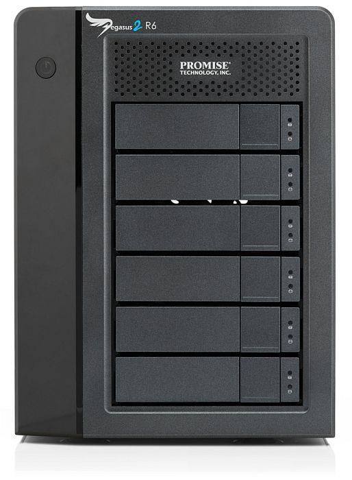 Promise Pegasus2 R6 24TB, Thunderbolt 2 (F40SR6R00000002)