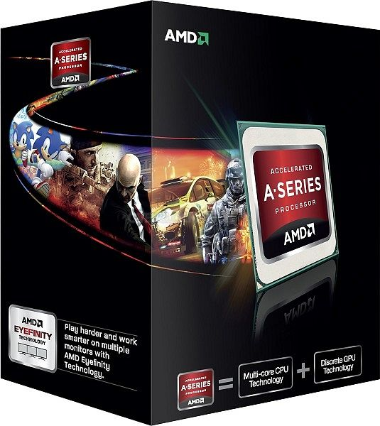 AMD A10-5800K Black Edition, 4x 3.80GHz, boxed (AD580KWOHJBOX)