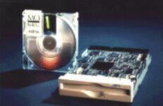 Fujitsu MO MCB3064SS, 640MB, SCSI internal, bulk
