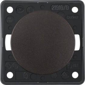 Berker Integro FLOW Taster/Schließer, braun matt (936712501)