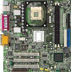 MSI MS-6526GL-L, i845GL, VGA, LAN (DDR)