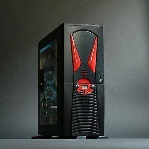 X-Alien AL888 Midi-Tower schwarz, 500W ATX -- © CWsoft