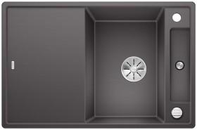 Blanco Axia III 45 S InFino rock grey incl. glass cutting board (523184)