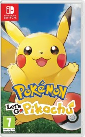 Pokémon: Let's Go - Pikachu! (Switch)