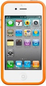 Apple iPhone 4 Bumper orange (MC672ZM/A)