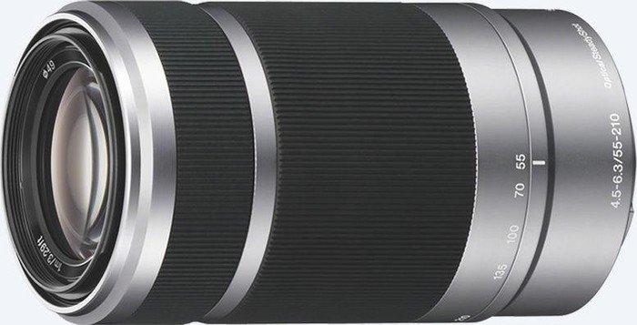 Sony E 55-210mm 4.5-6.3 OSS silber (SEL-55210S)