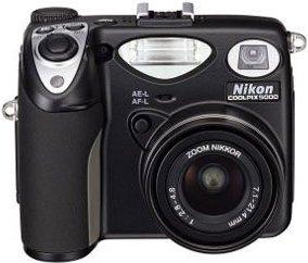 Nikon Coolpix 5000, w tym 1GB Microdrive