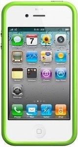 Apple iPhone 4 Bumper green (MC671ZM/A)