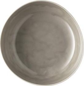 Rosenthal Junto Pearl Grey - Relief nur außen Suppenteller 25cm (10540-405201-10355)