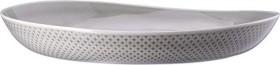 Rosenthal Junto Pearl Grey - Relief nur außen Suppenteller 33cm (10540-405201-10363)