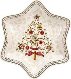 Villeroy & Boch winter Bakery Delight star bowl 27x27cm medium tree (1486123776)