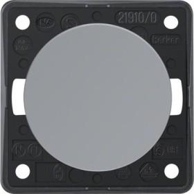 Berker Integro FLOW Taster/Schließer, grau glänzend (936712507)
