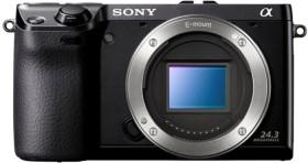 Sony Alpha NEX-7 schwarz Gehäuse
