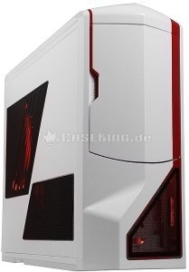 NZXT phantom white/red -- © caseking.de