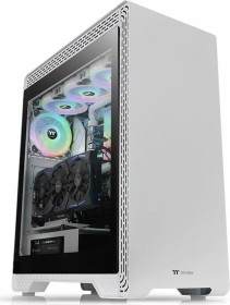 Thermaltake S500 TG Snow Edition white, glass window (CA-1O3-00M6WN-00)