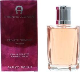Etienne Aigner Private Number for Woman Eau De Toilette, 100ml