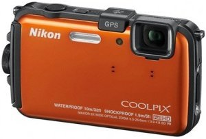 Nikon Coolpix AW100 orange (VMA893E1)