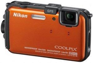 Nikon Coolpix AW100 pomarańczowy (VMA893E1)