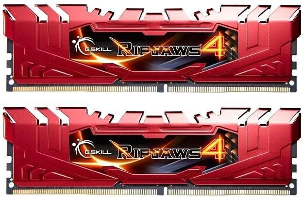 G.Skill RipJaws 4 red DIMM kit 16GB, DDR4-2133, CL15-15-15-35 (F4-2133C15D-16GRR)