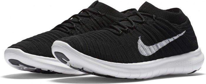 Nike Free RN Motion Flyknit blackvoltdark greywhite (Damen) (834585 001)