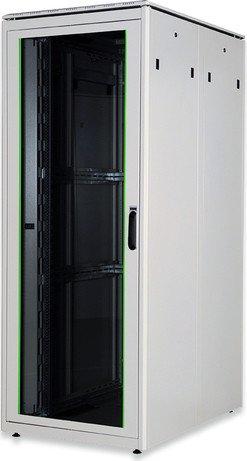 Digitus Professional DN-19 Unique Serie 42HE Serverschrank, Glastür, grau, 1200mm tief (DN-19 42U-8/12-1)