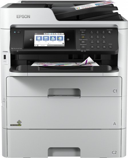 Epson WorkForce Pro WF-C579RDTWF, Tinte (C11CG77401BM)