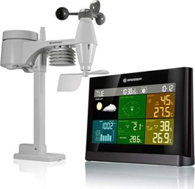 Bresser Comfort WetterCenter 5in1 Funkwetterstation Digital (7002550)