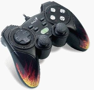 Genius MaxFire Blaze3 Gamepad, USB (PC/PS3) (31610060101)