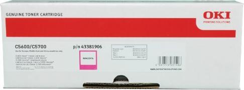 OKI 43381906 Toner magenta -- via Amazon Partnerprogramm