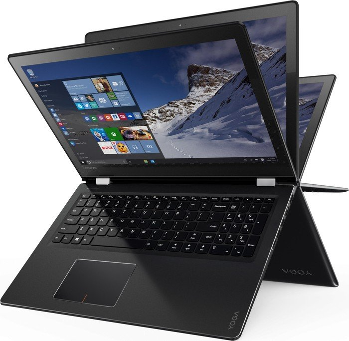 Lenovo Yoga 510-15IKB, Core i5-7200U, 8GB RAM, 1TB HDD, Radeon R7 M460 (80VC0037GE)
