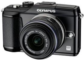 Olympus PEN E-PL2 schwarz mit Objektiv M.Zuiko digital 14-42mm II (N4288092)
