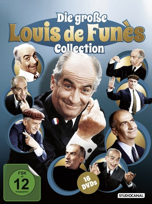 Louis de Funès Collection Box