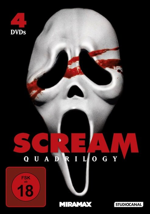 Scream Box (movies 1-4)