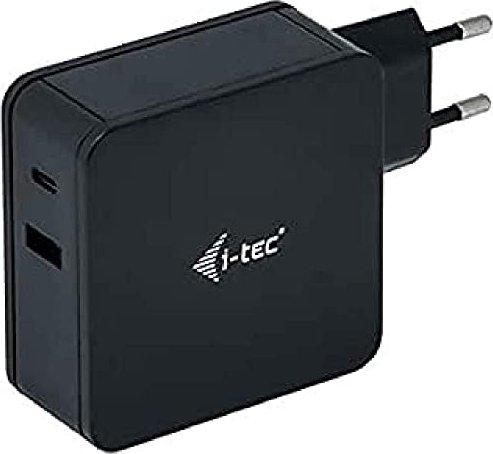 i-tec USB-C Charger 60W + USB-A Port 12W (CHARGER-C60WPLUS) -- via Amazon Partnerprogramm