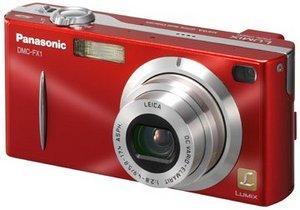 Panasonic Lumix DMC-FX1 rot